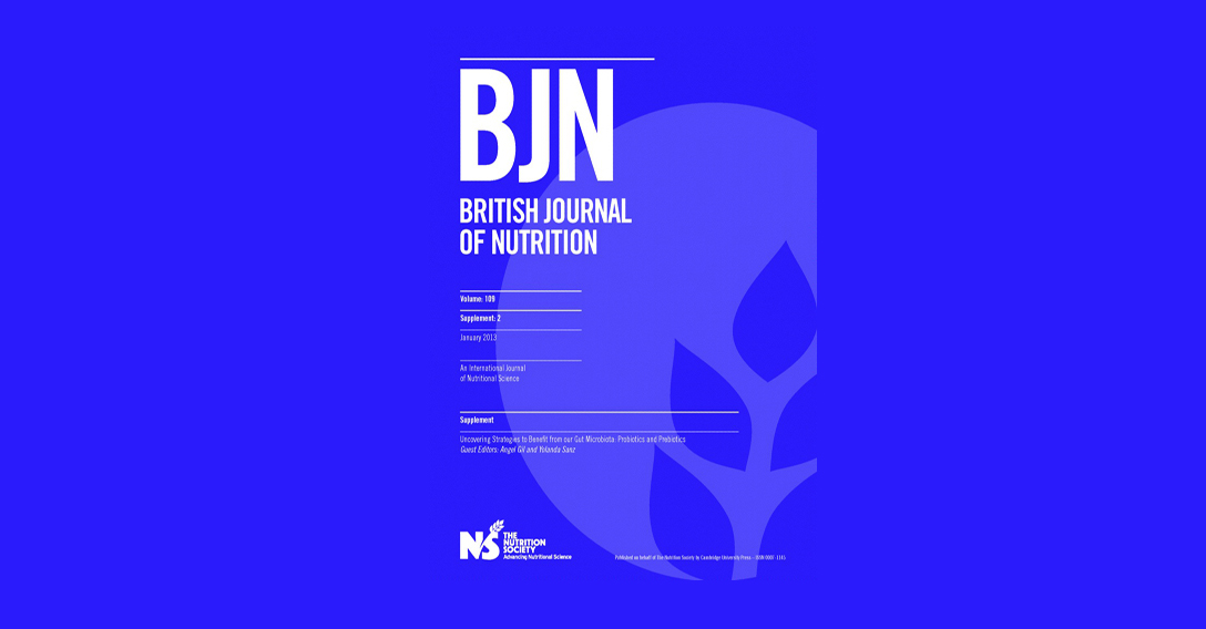 SUPLEMENTO S2 vol 109 (2013) British Journal of Nutrition