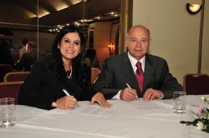 Firma convenio con la Sociedad Paraguaya de Nutrición