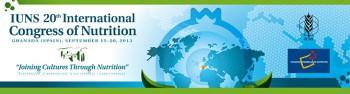 20 Congreso Internacional de Nutrición 2013