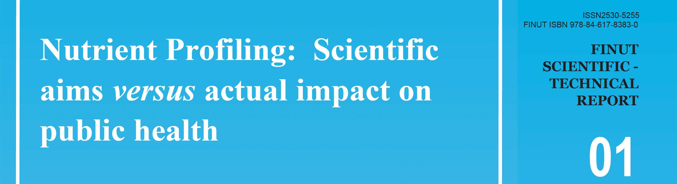 """Descárgate gratis la versión inglesa de nuestro informe """"Nutrient Profiling"""""""