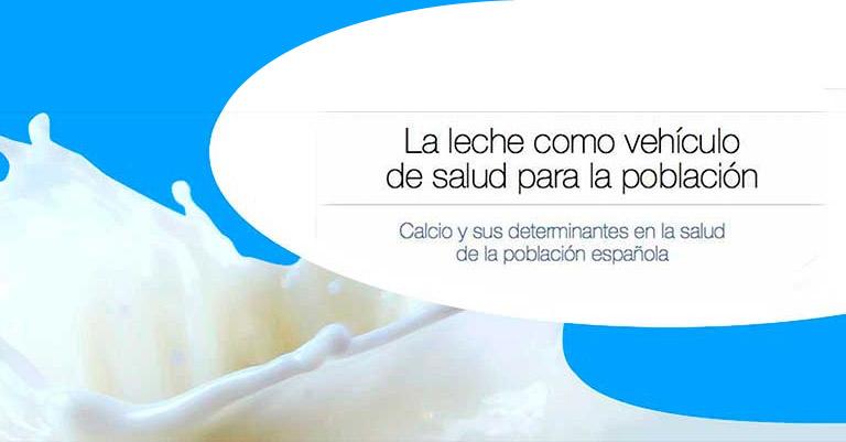 La leche como vehículo de salud para la población