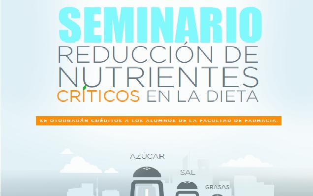 Reducción de nutrientes críticos: grasas, azúcares y sal