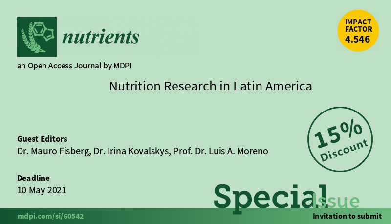 CONFERENCIA FINUT NUTRITION RESEARCH IN LATIN AMERICA