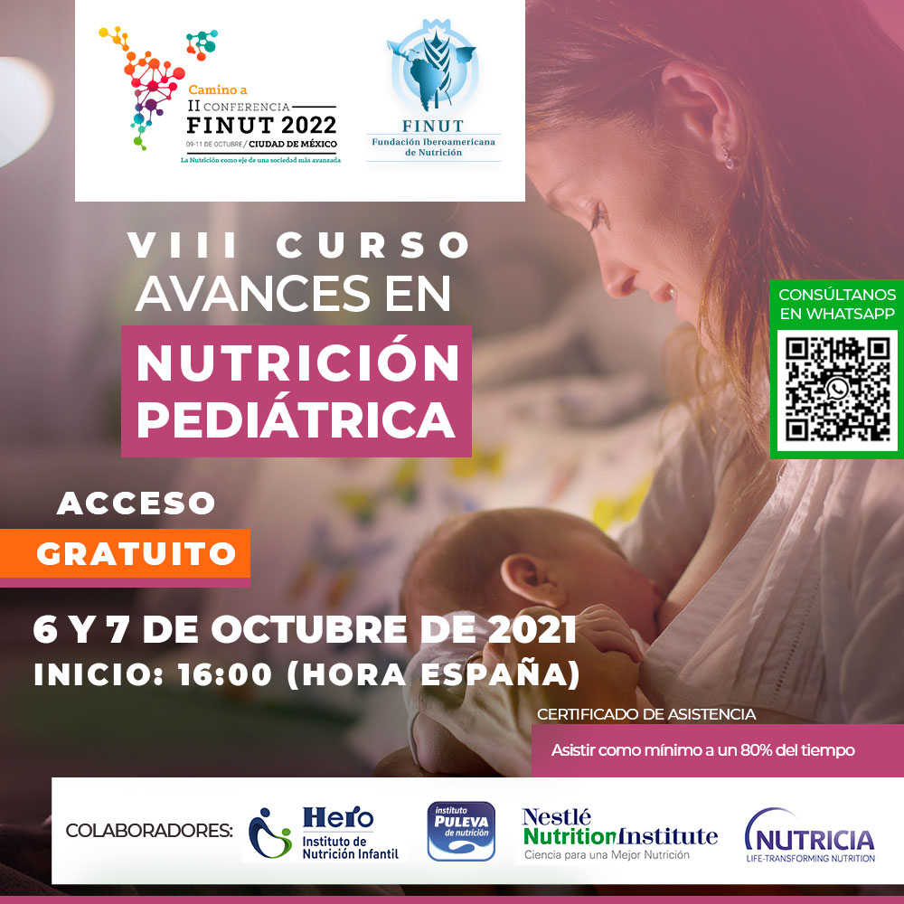 VIII CURSO FINUT AVANCES EN NUTRICION PEDIATRICA