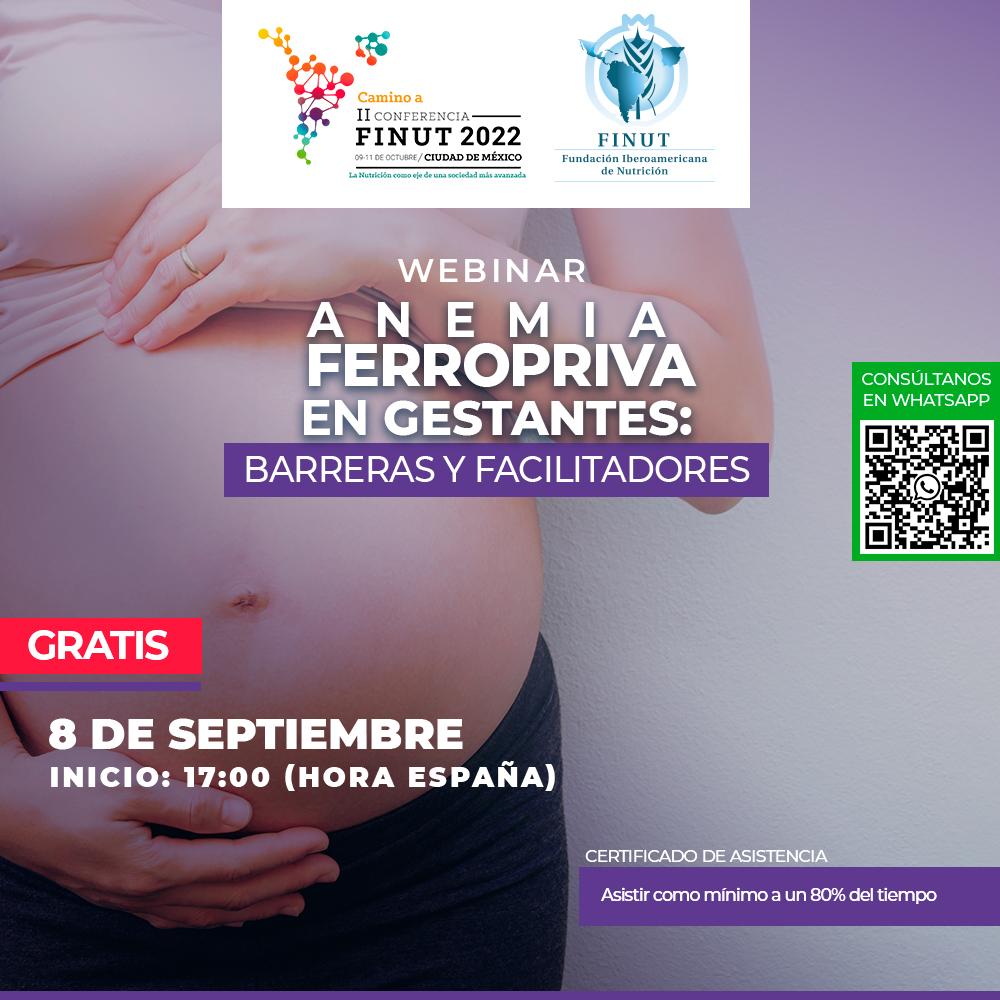 Webinar_Anemia Ferropriva Gestantes GRATIS