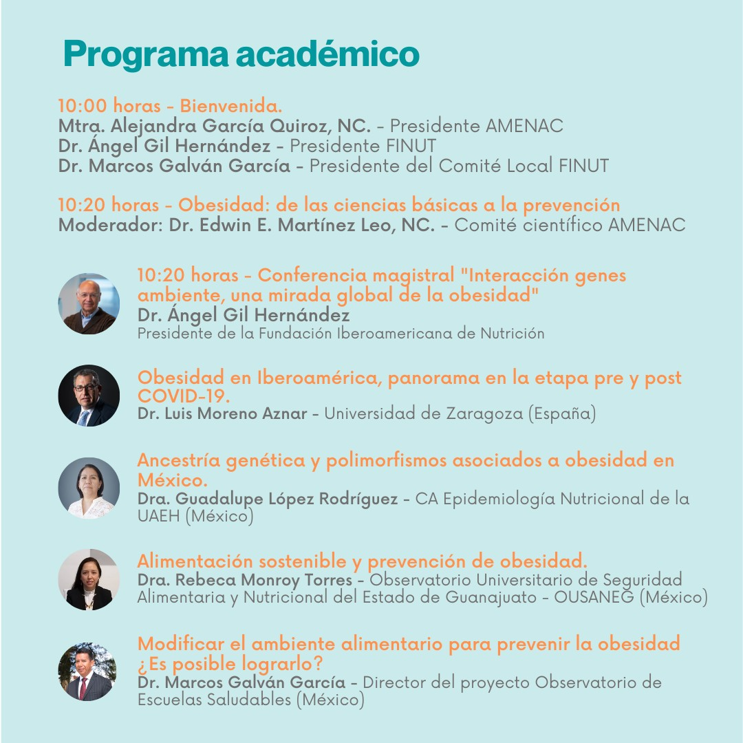 Programa seminario AMENAC-FINUT