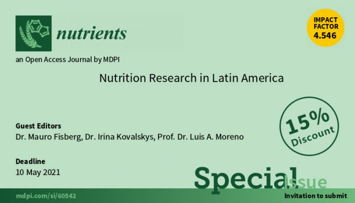 CONFERENCIA FINUT NUTRITION RESEARCH IN LATIN AMERICA