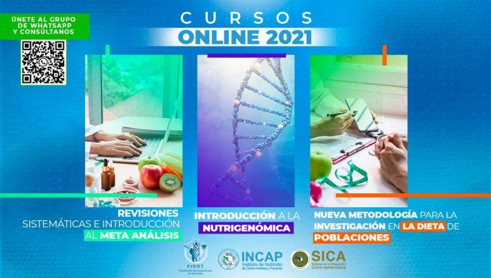 CURSOS ONLINE FINUT 2021
