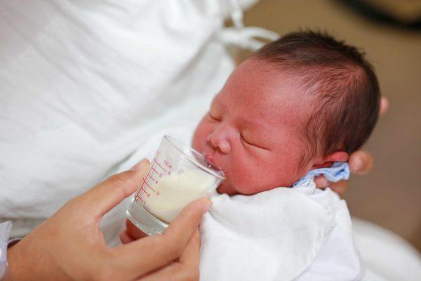 bebé leche